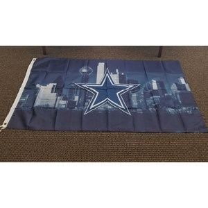 Other - Dallas Cowboys Skyline Banner Flag New 3x5 F24